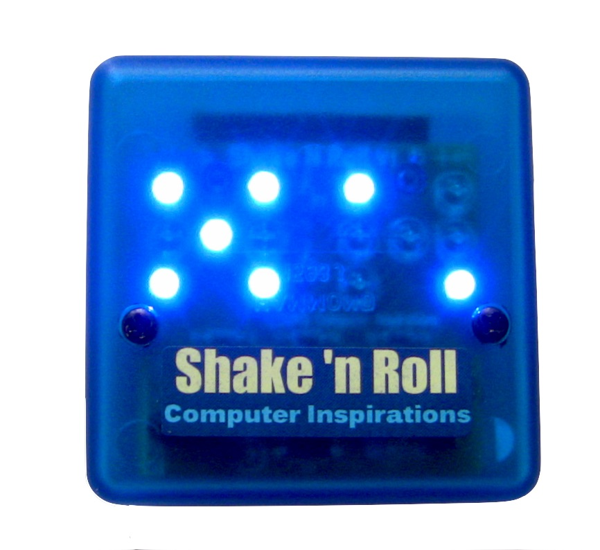 Shake 'n Roll Digital Dice